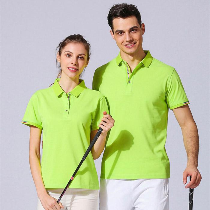 果绿T恤POLO衫