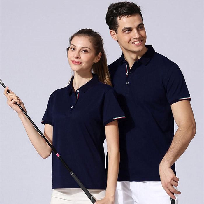 藏青色T恤POLO衫