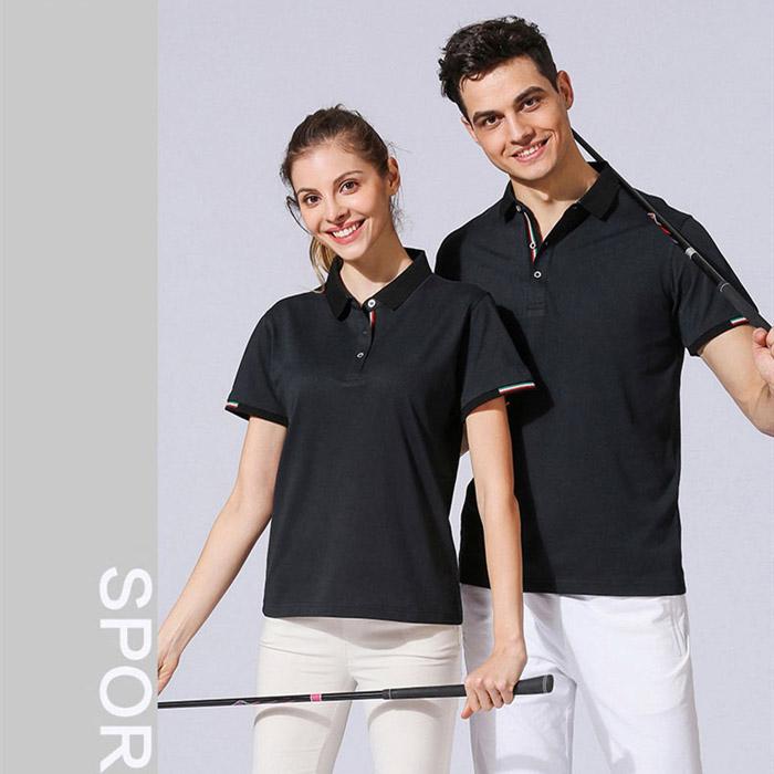 黑色T恤POLO衫
