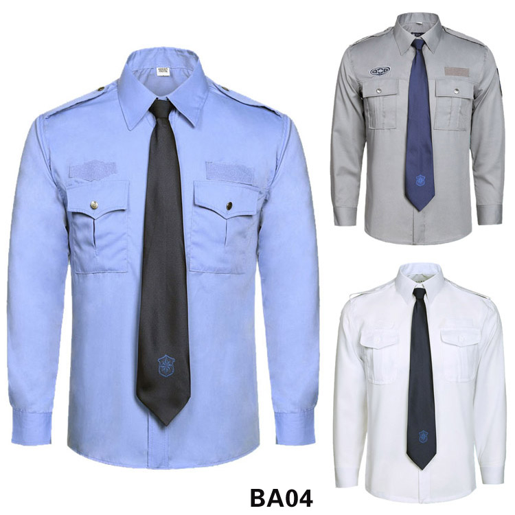 保安衬衫长袖