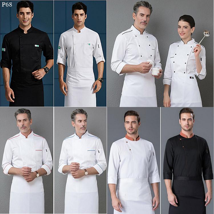 厨师工作服12