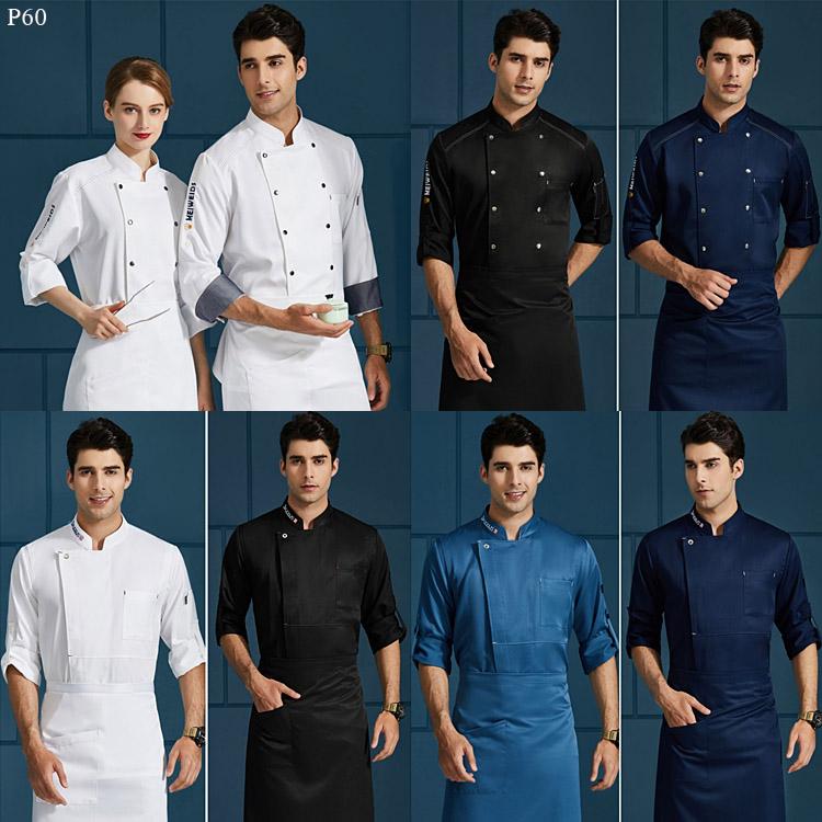 厨师工作服8