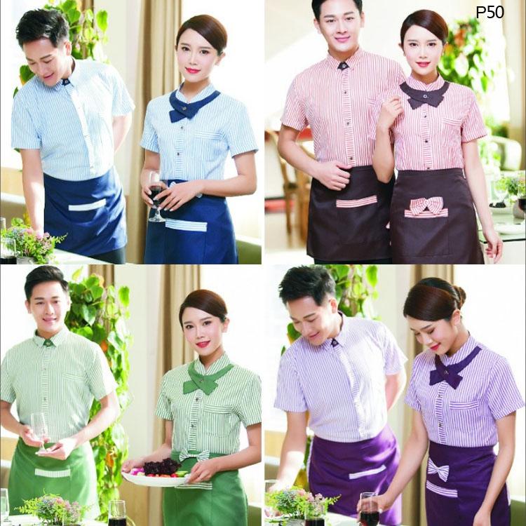 火锅店餐厅服务员工作服款式