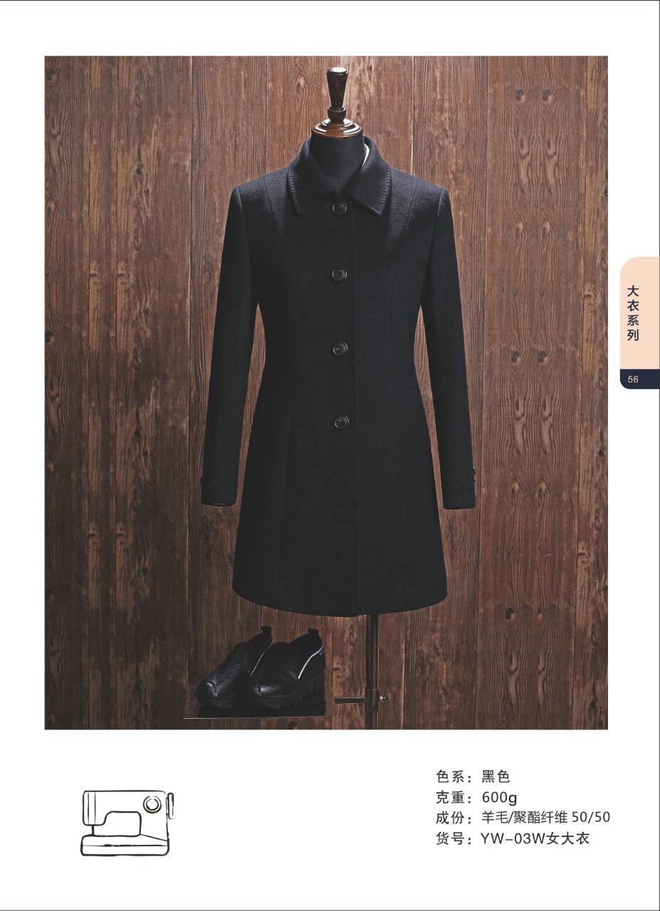 高档羊毛大衣图片