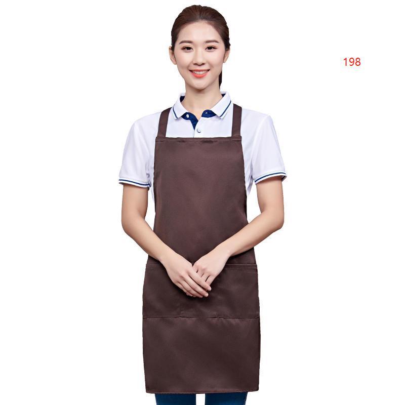 198款咖啡色围裙