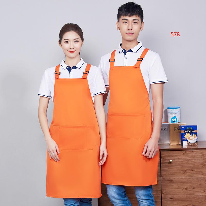 578款橙色围裙