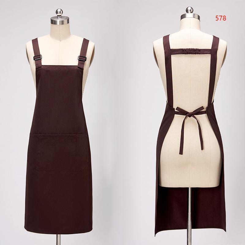 578款咖啡色围裙