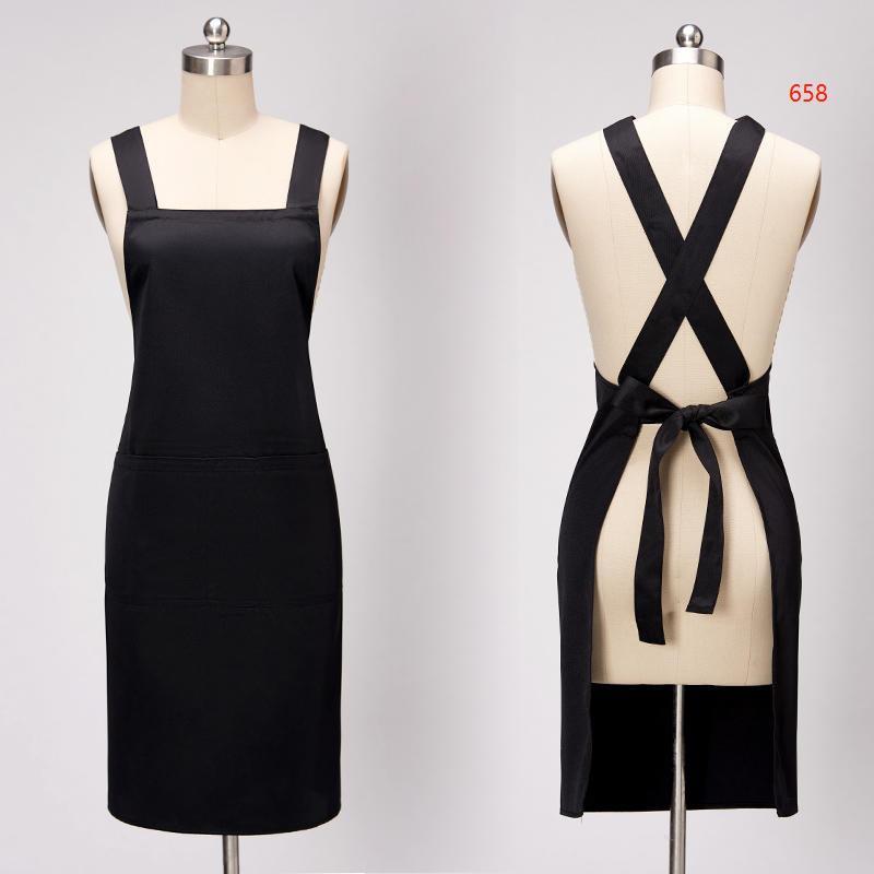 658款黑色围裙图