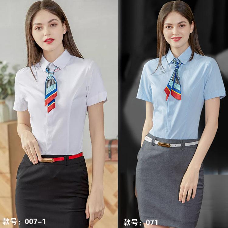 女士衬衫短袖007071款