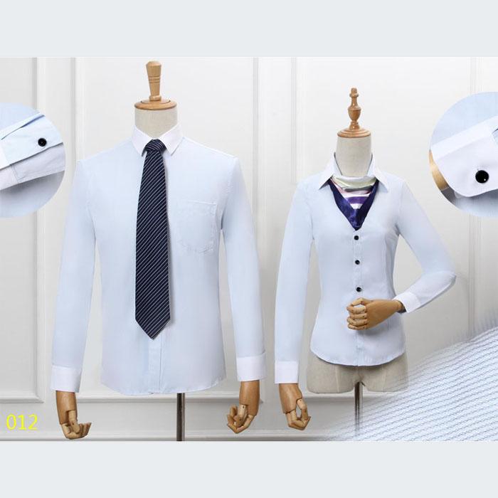 男女同款衬衫长袖012