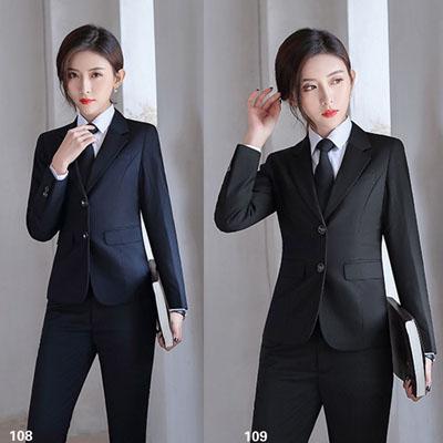 女装西服定制职业装西装套装工作服