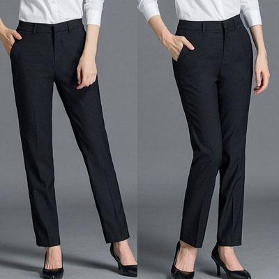 正装西裤工作服制服女士商务裤子601款