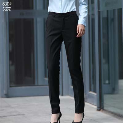 女式西装裤子正装工作西裤小脚裤