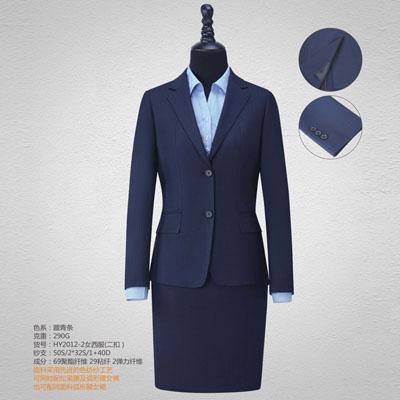 西服定制高端西装订做女士套裙单西HY2012-2